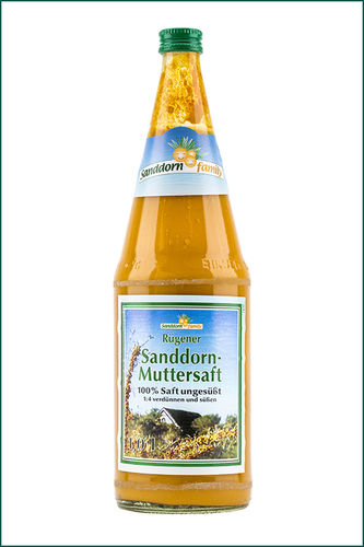 Sanddorn Muttersaft 100% 1 Liter